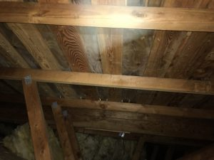 attic sheathing